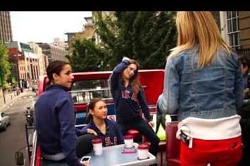 McKayla Maroney Teaches Jenna Bush How To Dougie